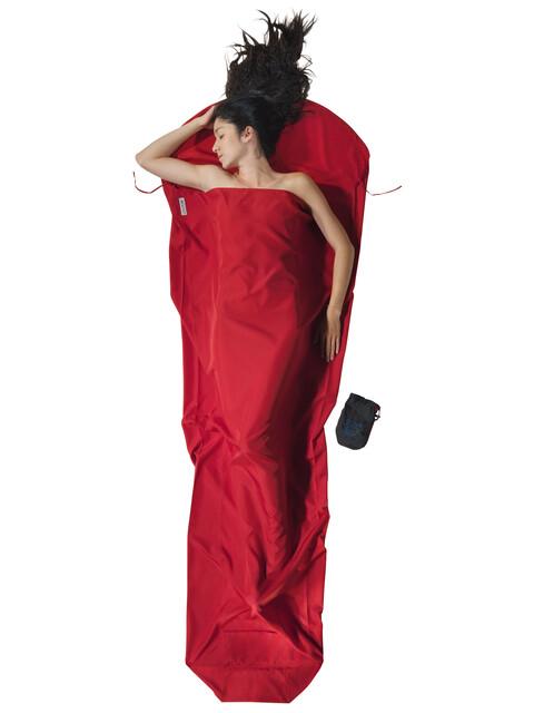Cocoon - Drap sac de couchage microfibres - rouge